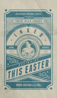Easter invite card